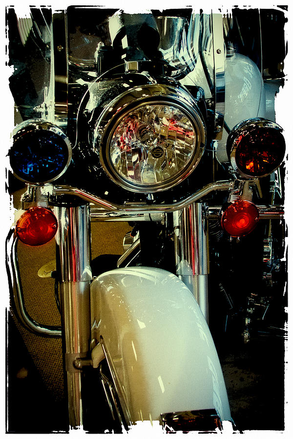 Harley Davidson Photograph - Copper Chopper by David Patterson