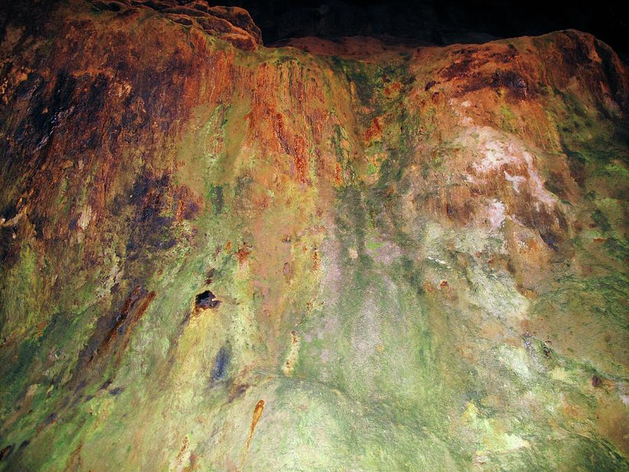 Copper Photograph - Copper Mine Deposit by Cordelia Molloy/science Photo Library