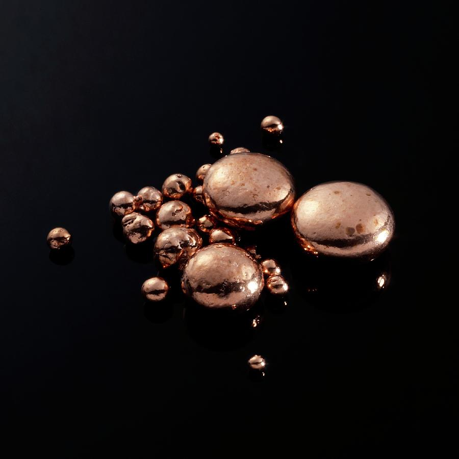 Application Photograph - Copper by Science Photo Library