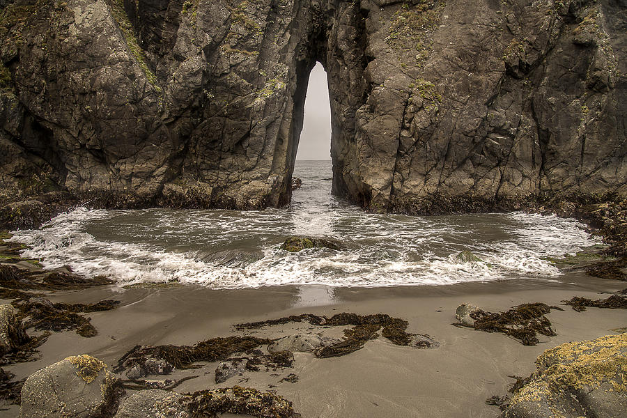 Coquille Point Bandon Beach by Lee Kirchhevel