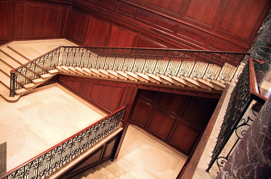 Stair Photograph - Corcoran Gallery Staircase by Cora Wandel