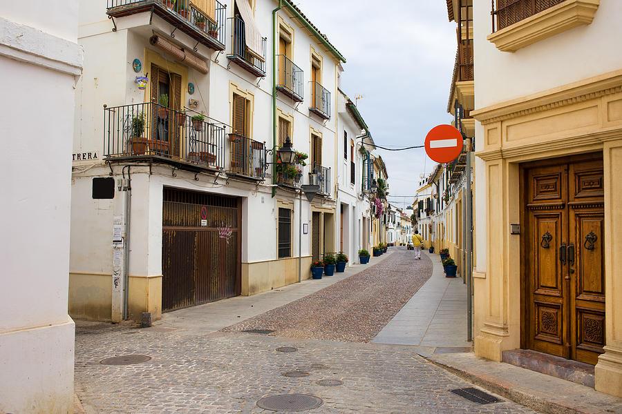 Andalucia Photograph - Cordoba Old Town Houses by Artur Bogacki