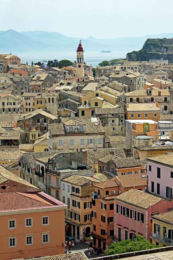 Corfu, Greece Photograph by David Gould