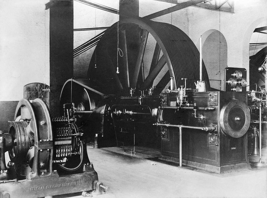 Corliss Steam Engine, Circa 1900