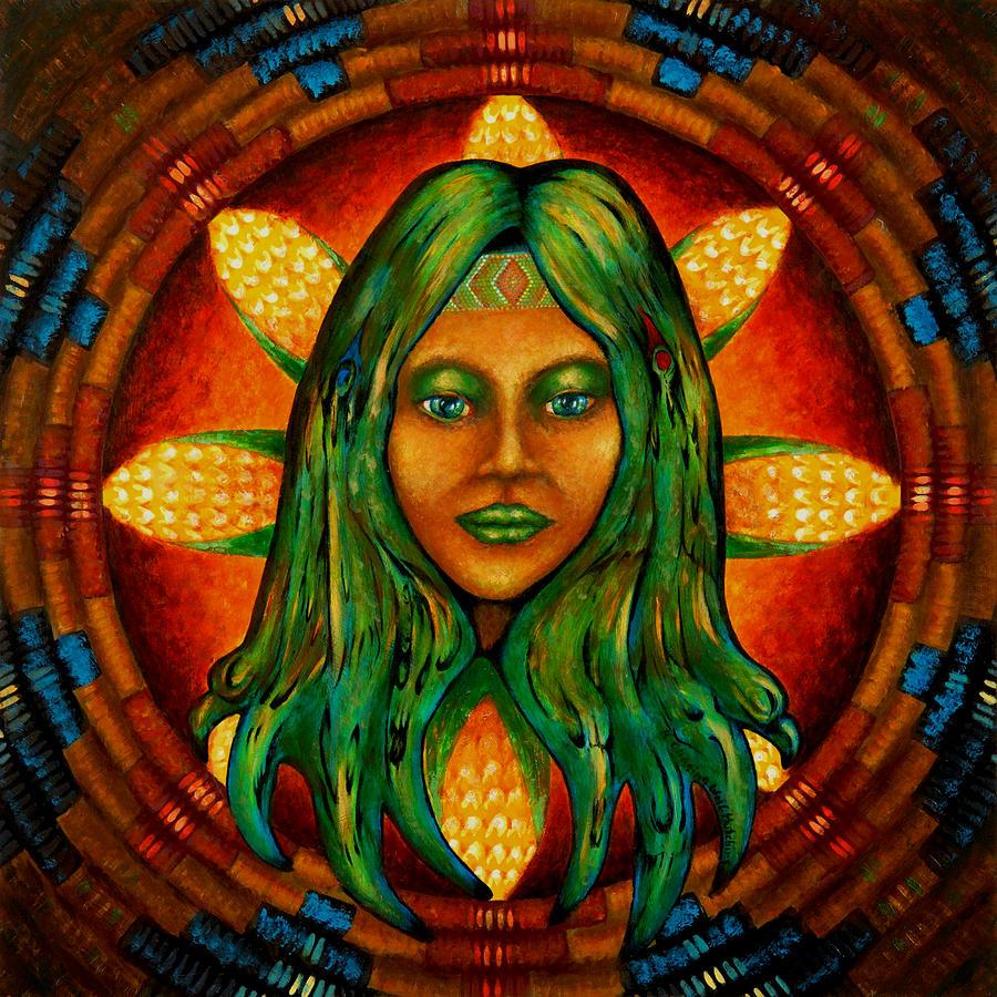 Corn Maiden Painting