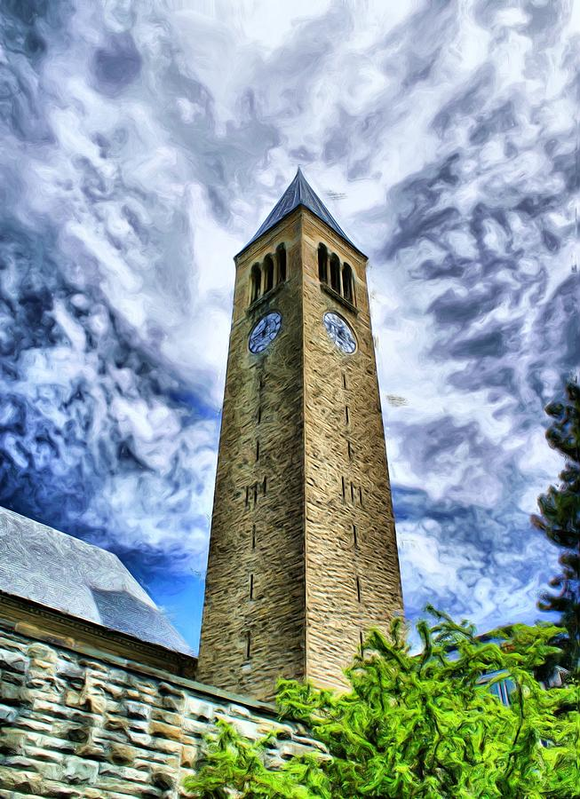 Cornell Clock Tower Photograph By Russ Considine