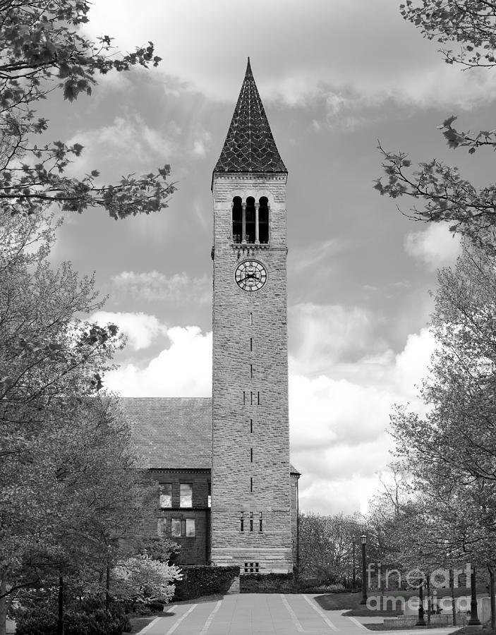 Cornell University Photograph - Cornell University Mc Graw Tower by University Icons