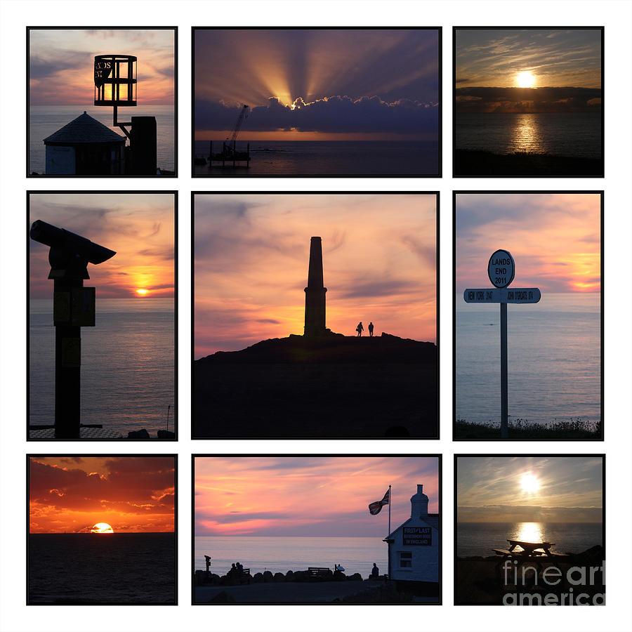 Cornwall Photograph - Cornish Sunsets by Terri Waters