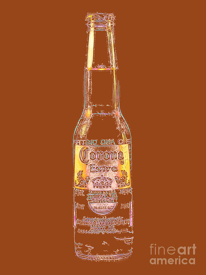 Beer Photograph - Corona Beer 20130405v2 by Wingsdomain Art and Photography