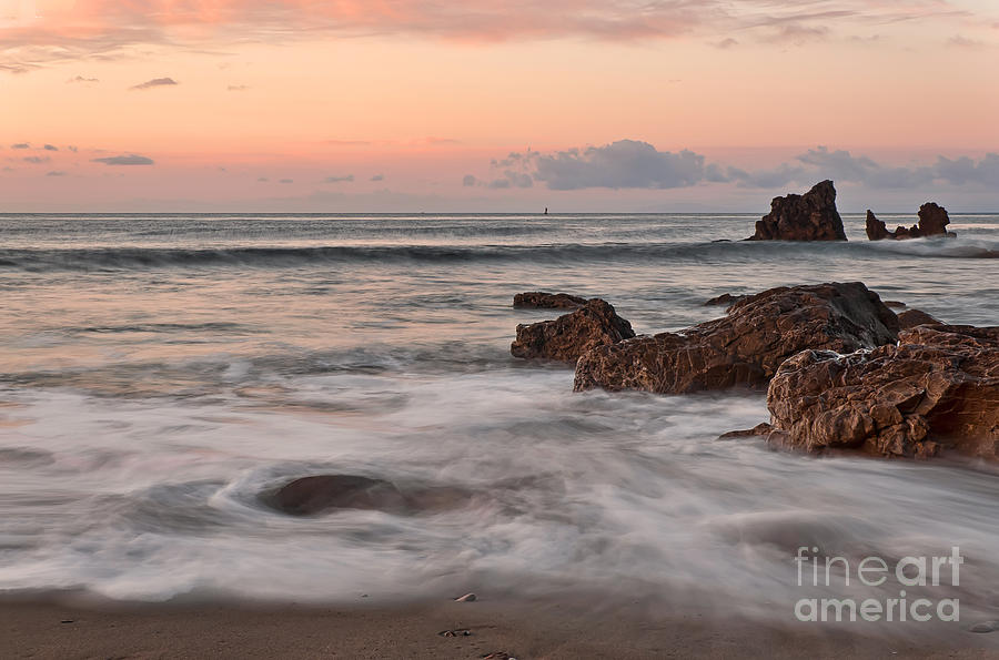 Corona Del Mar Sunrise Photograph