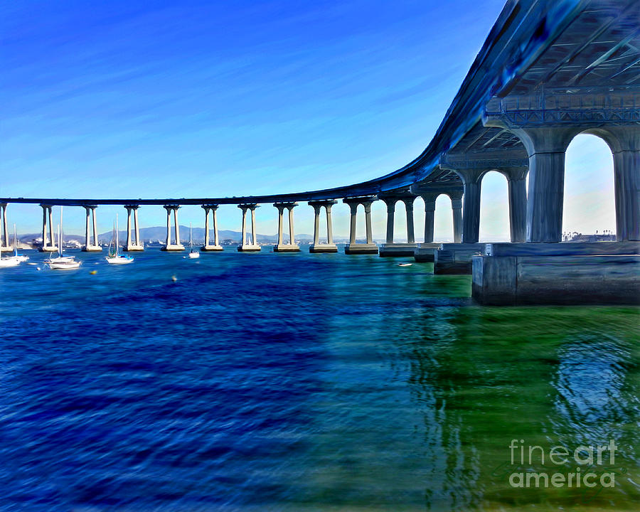 Coronado Bridge 2014 by Glenn McNary