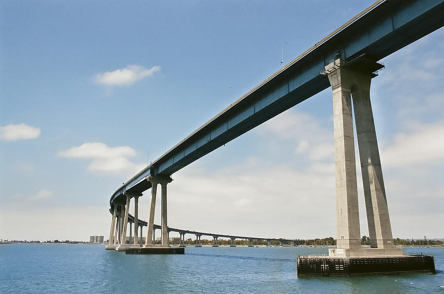 Bridge Photograph - Coronado Bridge by Andrew Kasten
