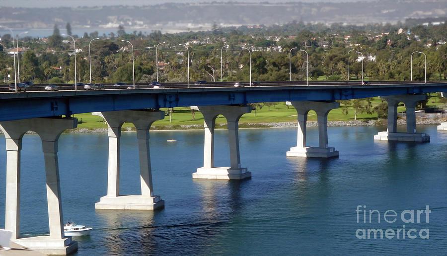 Coronado Bridge Photograph - Coronado Bridge by Gregory Dyer