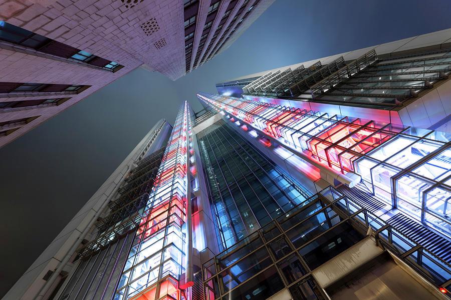 Corporate Buildings Photograph by Bertlmann