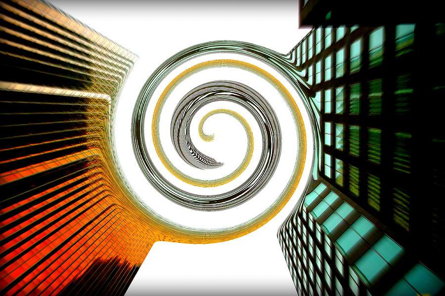 Merge Photograph - Corporate Merging by Valentino Visentini