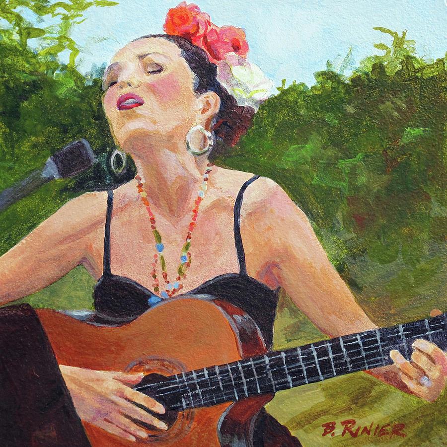 Corrido Painting - Corrido by Bonnie Rinier