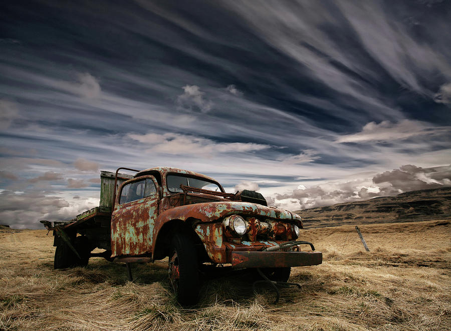 Car Photograph - Corrosion by ?orsteinn H. Ingibergsson