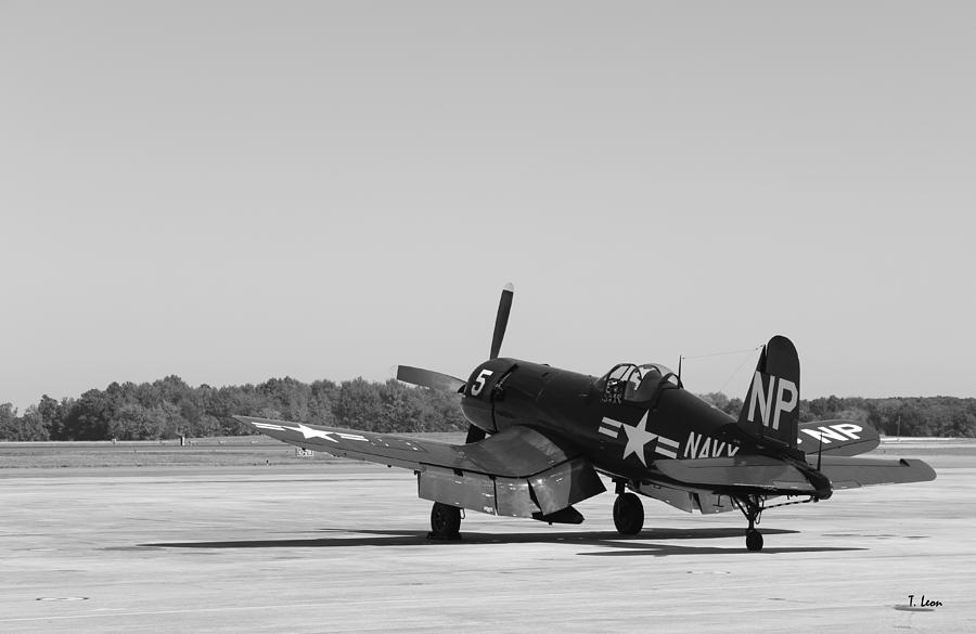 Corsair Photograph - Corsair by Thomas Leon
