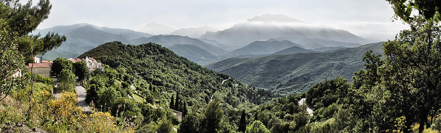 Corsica Panorama by Adrian Brockwell