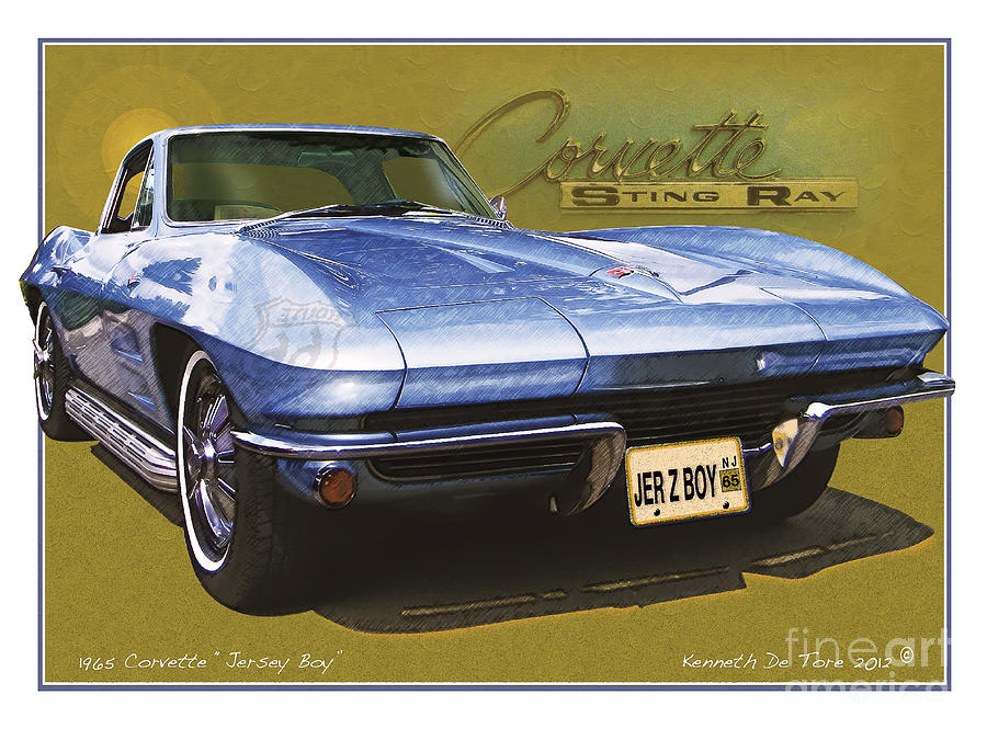 Corvette 1965 by Kenneth De Tore