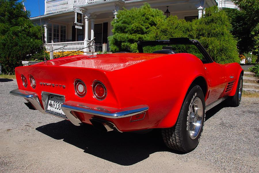 1970 Corvette Stingray >> Corvette Stingray 1970 Photograph by John Schneider