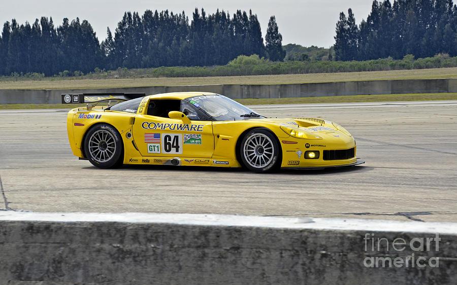 Corvette Trans Am Race Car Photograph by Tad Gage