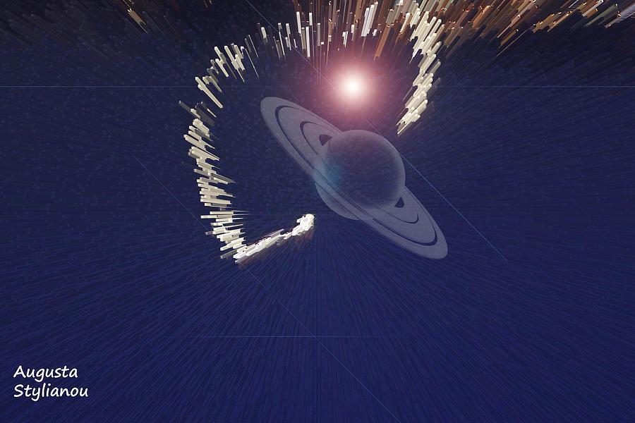 Star Digital Art - Cosmic Event by Augusta Stylianou