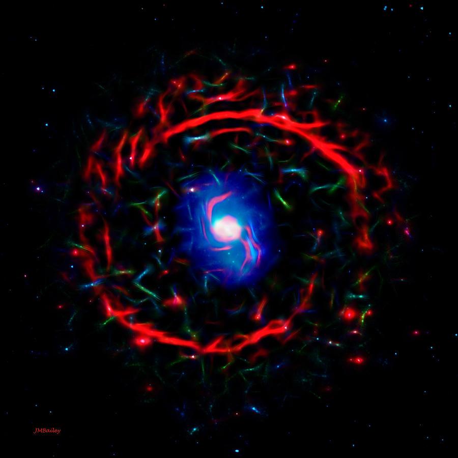 Abstract Photograph - Cosmic Eye by John M Bailey