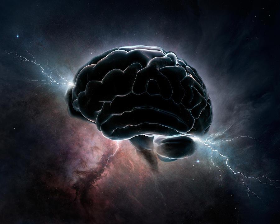 Cosmic Intelligence Digital Art