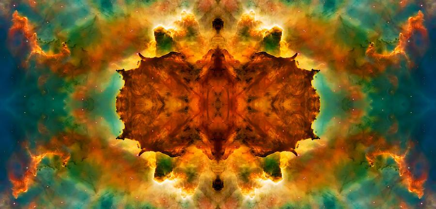 Universe Photograph - Cosmic Kaleidoscope 2  by Jennifer Rondinelli Reilly - Fine Art Photography