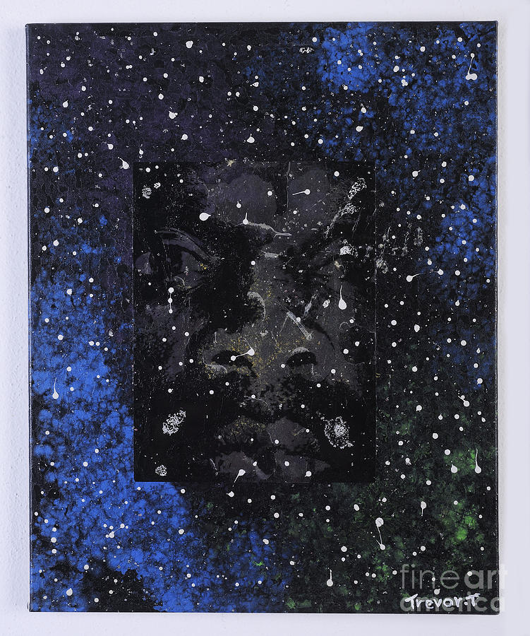 Cosmic Mind Mixed Media by Trevor Todd