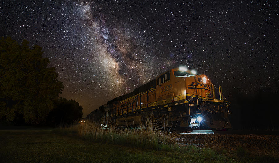 Cosmic Railroad Photograph