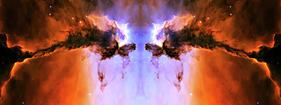 Space Photograph - Cosmic Release by Jennifer Rondinelli Reilly - Fine Art Photography