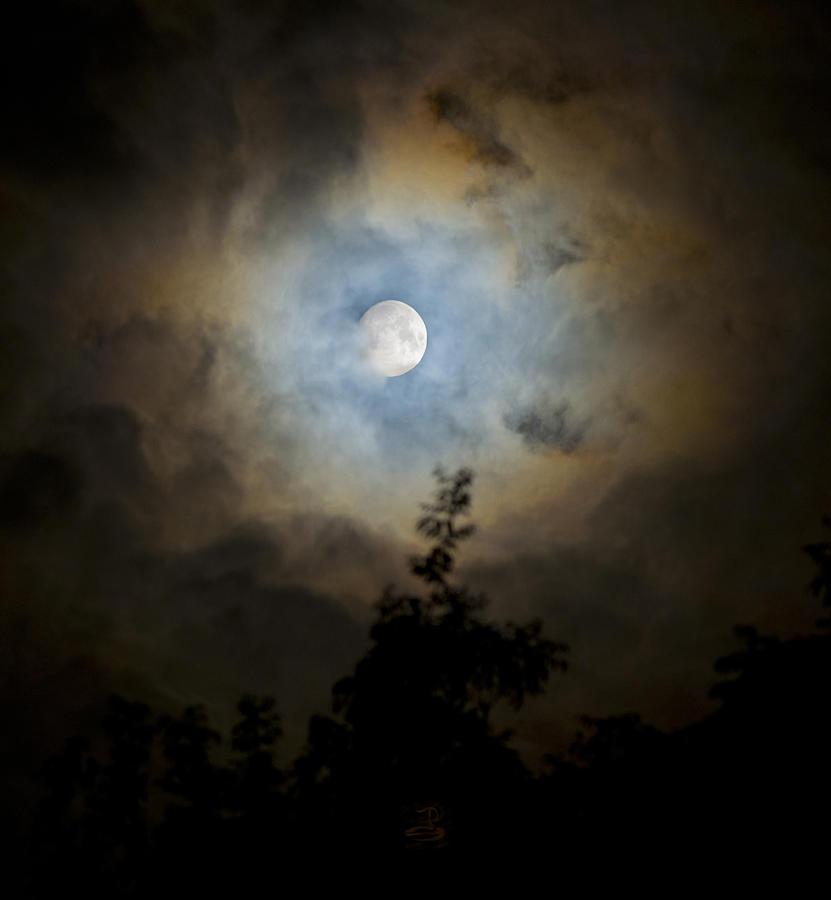 Moon Photograph - Cosmic  by Steven Poulton
