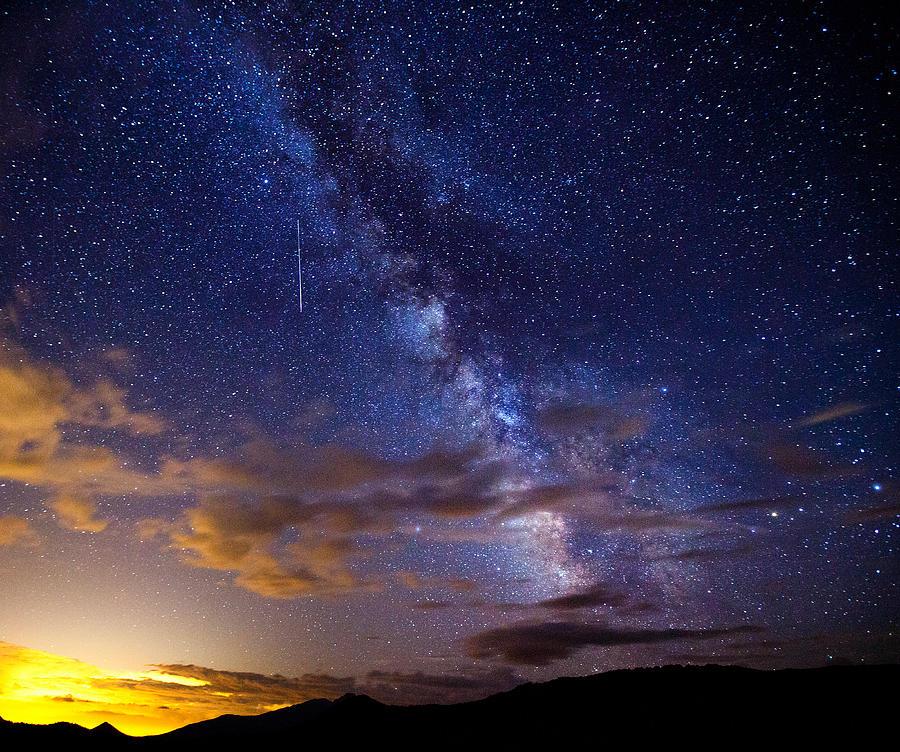 Milky Way Photograph - Cosmic Traveler  by Darren  White