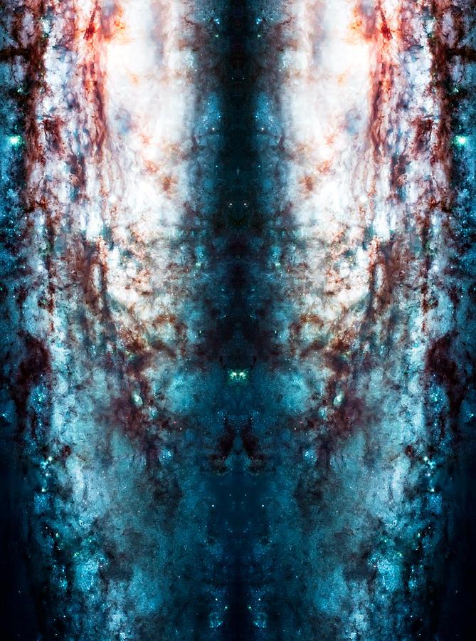 Universe Photograph - Cosmic Winter by Jennifer Rondinelli Reilly - Fine Art Photography