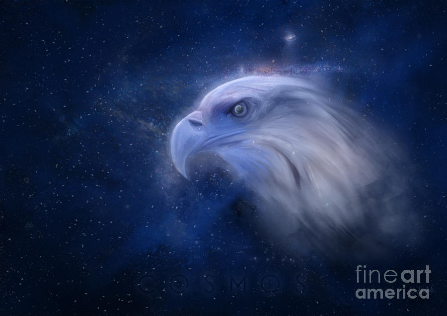 Digital Painting Painting - Cosmos 2 by Ivan  Pawluk