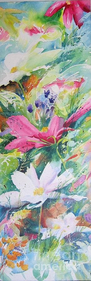 Watercolour Painting - Cosmos Lll by John Nussbaum