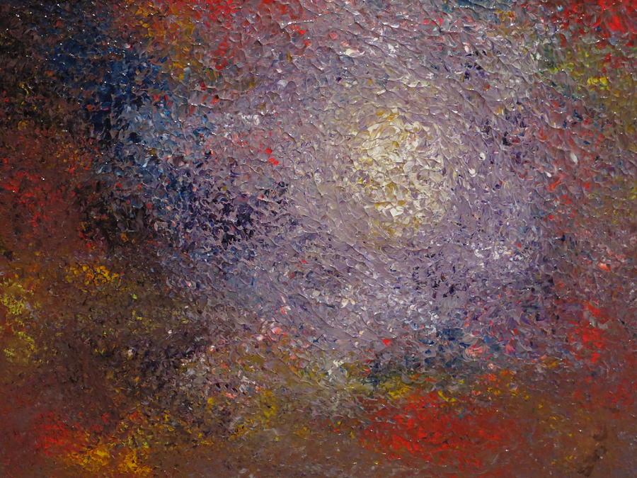 Abstract Painting - Cosmos by Soraya Silvestri
