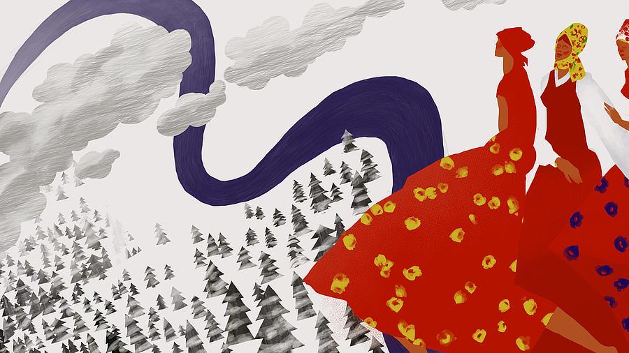 Cossack Song Digital Art by Sergey Maidukov
