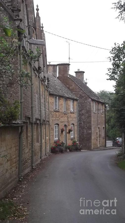 Little Rissington Photograph - Cotswold Cottages by John Williams