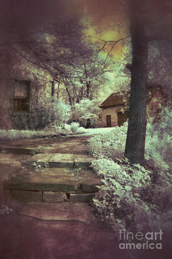 Cabin Photograph - Cottages In The Woods by Jill Battaglia