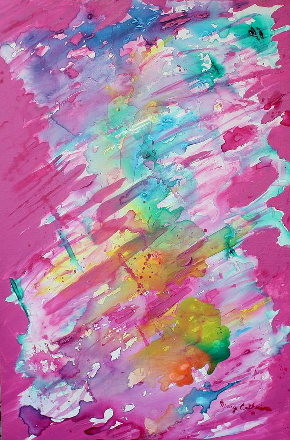 Cotton Candy Painting
