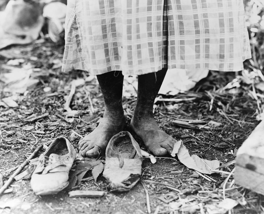 1937 Photograph - Cotton Picker, 1937 by Granger