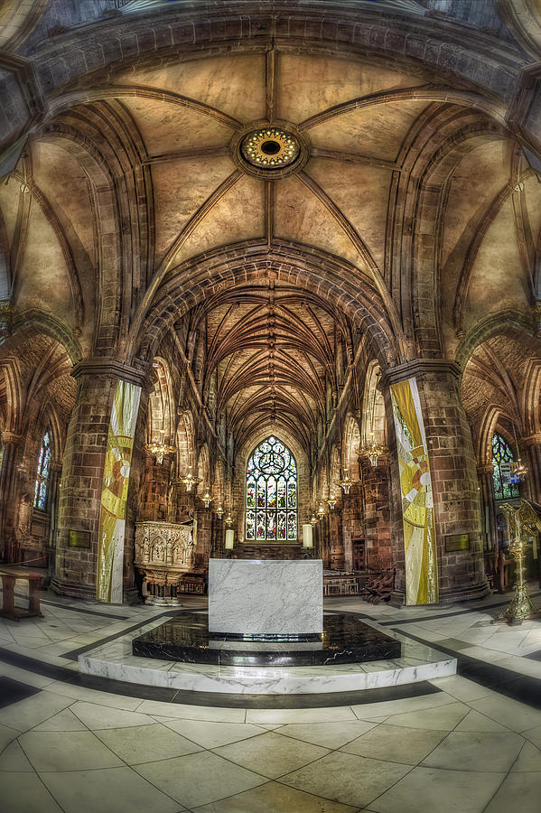 Cathedral Photograph - Count Your Blessings by Evelina Kremsdorf