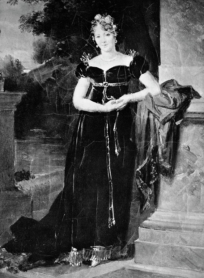 18th Century Painting - Countess Marie L by Granger