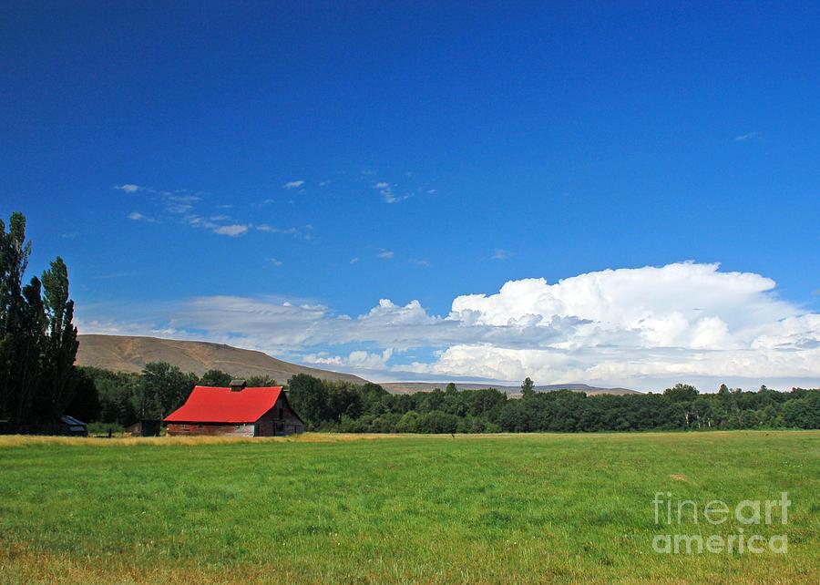 Barn Photograph - Country Barn by Chuck Flewelling