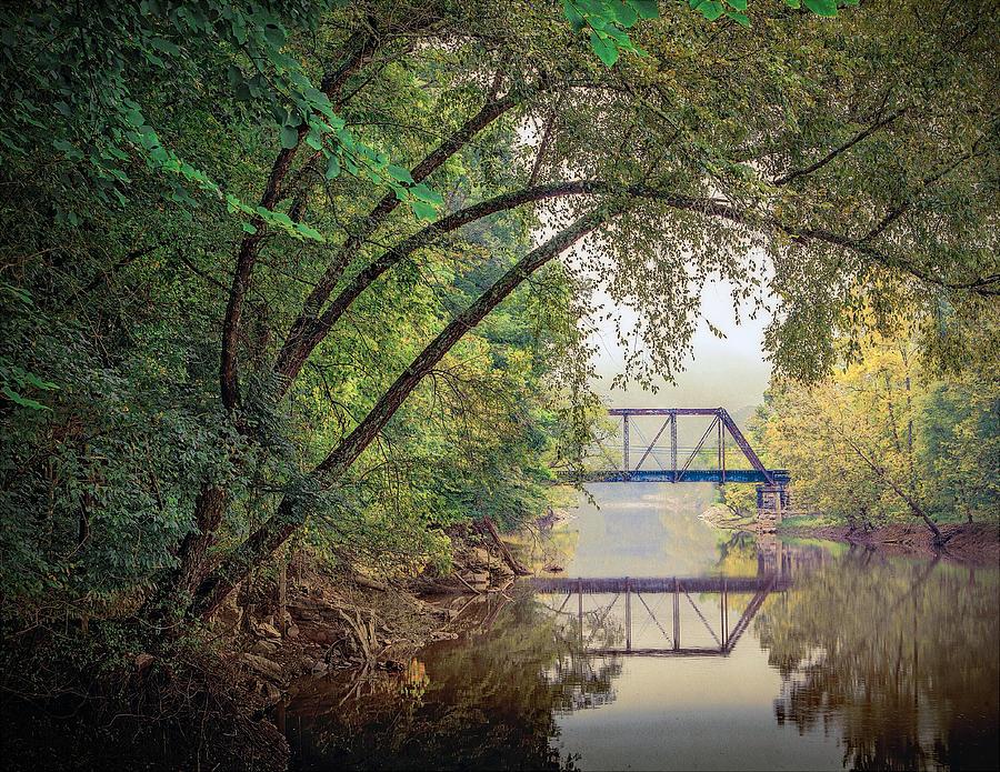 Bridge Photograph - Country Bridge by William Schmid