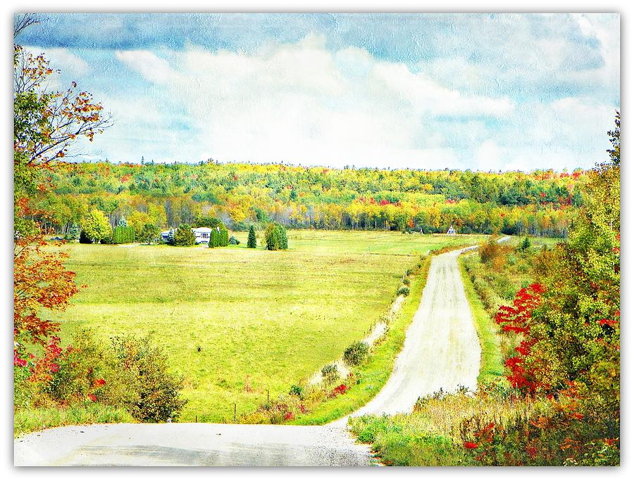 Ontario Canada Photograph - Country Charm by Dianne  Lacourciere