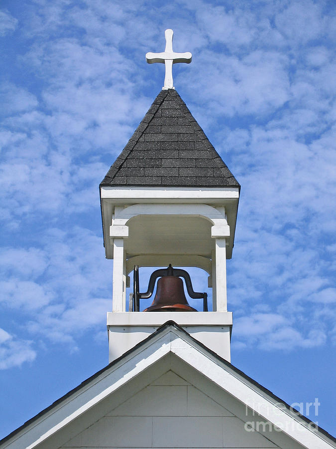 Country Church Bell Photograph By Ann Horn
